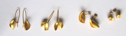 new 18ct gold plated earrings new into my webshop