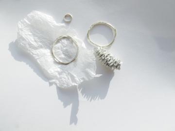 banksia pod & layered bracelet